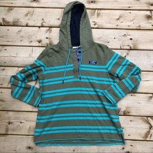 LL Bean soft cotton rugby pullover size MP